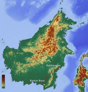 De Balikpapan à Banjar Baru