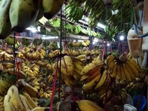 Au marché à Balikpapan