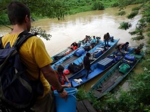 Embarquement à Hambur Batu