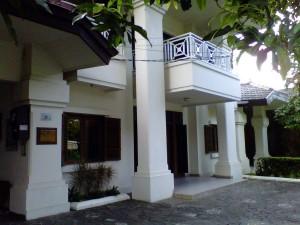 Le centre de l'École française d'extrême-orient à Jakarta