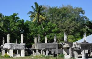 Cimetière du village de Rindé Raja'
